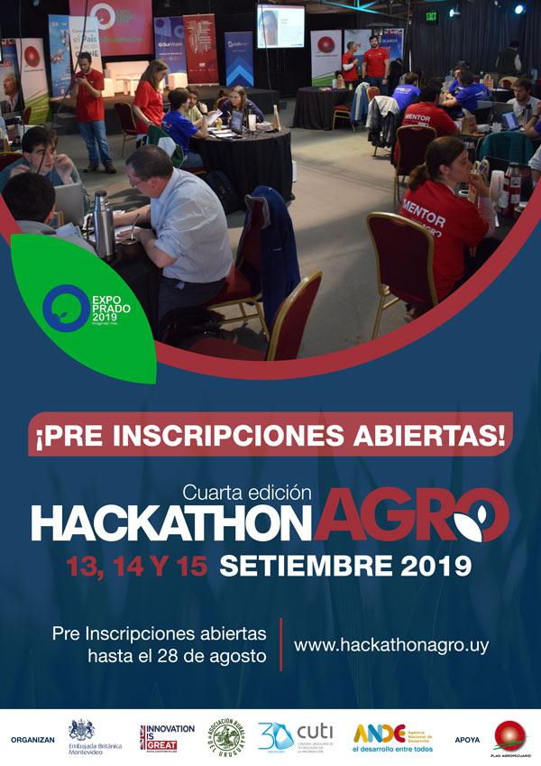 Afiche Hackathon agro 2019