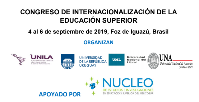 congreso educacion superior 2019